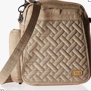Lug Flapper Crossbody Bag